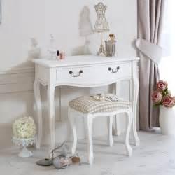 shabby chic bedroom vanity white wooden dressing table stool shabby french chic vanity bedroom make up desk ebay
