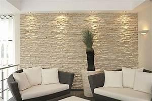 Le mur de pierre intérieur 25 idées de design original à découvrir