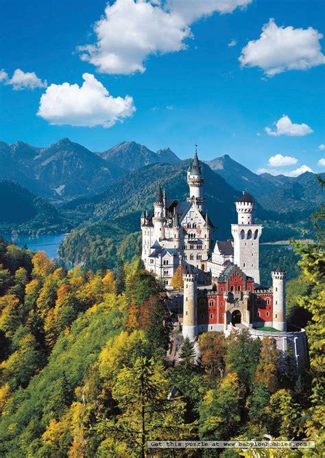 Neuschwanstein Castle Puzzle - 500pc, 500 Pieces, Jigsaw ...