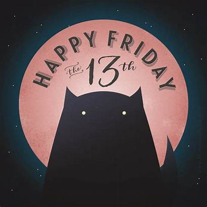 13th Friday Happy Quotes Moon Lucky Awesome