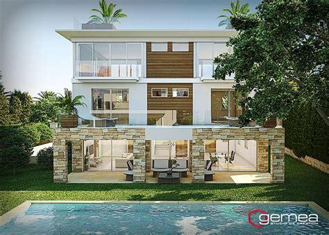 and house plans piscine villa 3d architecture 3d dé