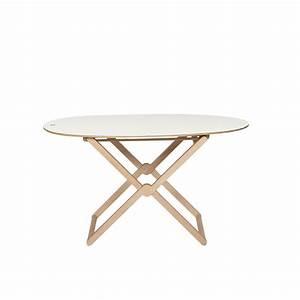 treee oval folding coffee table beech wood by caon With beech wood coffee table