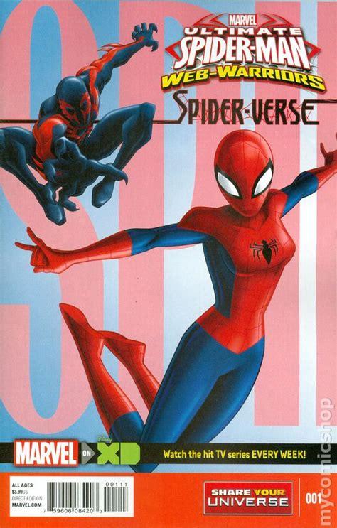 ultimate spider man spider verse  marvel universe