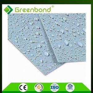 greenbond pvdf 4x8 plastic sheets aluminum composite panel With 4x8 metal panels