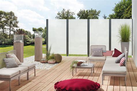 Moderner Sichtschutz by Sicht Windschutz Maag Holz Und Bau