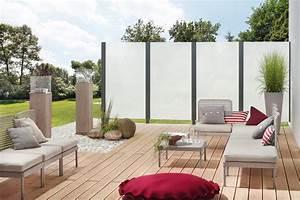 Sichtschutz Terrasse Modern : sicht windschutz maag holz und bau ~ Frokenaadalensverden.com Haus und Dekorationen