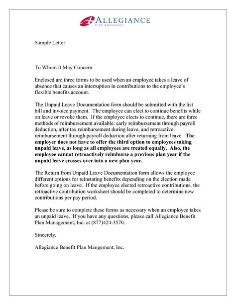 business letter format     concern examples