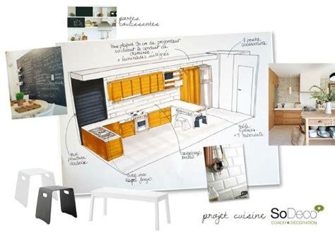 plan cuisine en longueur projet cuisine coach deco lille