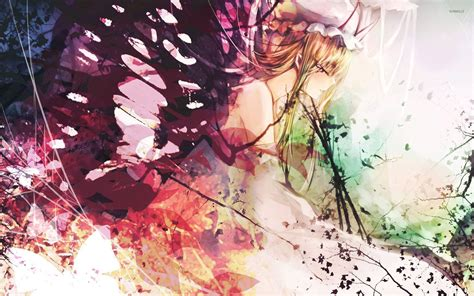Butterfly Girl Wallpaper Anime Wallpapers 26575