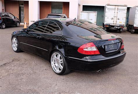 mercedes benz clk coupe  facelift sold