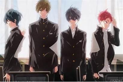Anime Uniform Boy Guys Starting Days Speed