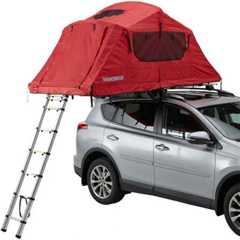 roof rack tent yakima 8007406 skyrise medium 3 person rooftop tent