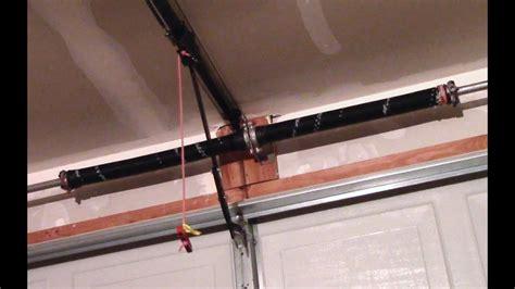 Garage Door Springs Ratings by Garage Door Torsion Replacement How To