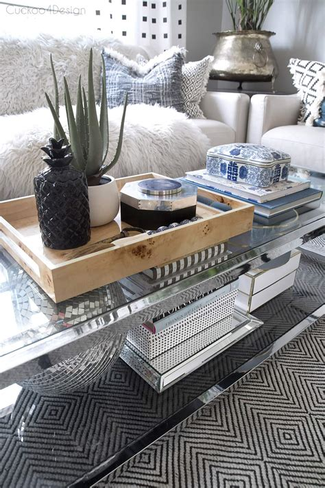 Here are 12 tips to get you started on decorating your table for valentines day. How to style a two-tier coffee table | Cuckoo4Design