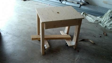 workbench  fold  castors woodworking talk