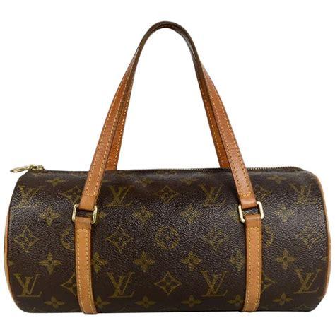 louis vuitton monogram coated canvas papillon  barrel bag  sale  stdibs