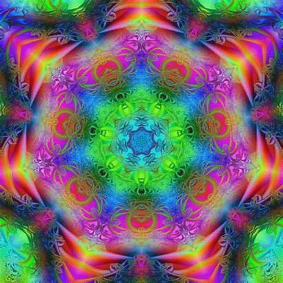 Meditation Kaleidoscope Animated Psychedelic Relaxation Healing Mandalas