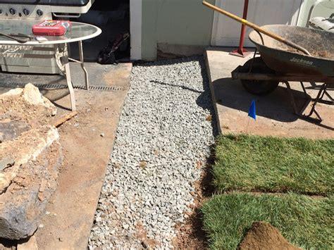 backyard drainage problem scotch plains yard drainage driveway drainage and landscaping solutions 07076