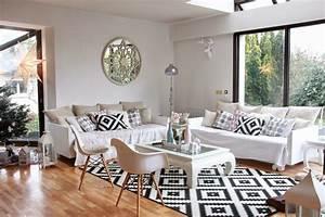 salle a manger style scandinave With salle À manger contemporaine avec style scandinave bleu