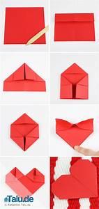 Herz Basteln Anleitung : origami herz aus papier falten anleitung origami herz ~ Lizthompson.info Haus und Dekorationen