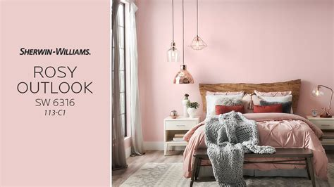 July 2017 Color of the Month: Rosy Outlook - Sherwin ...