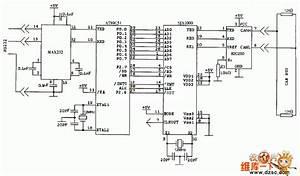 Sja1000 Can Controller Application Circuit Diagram