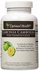Powerful Professional Grade Garcinia Cambogia Just Released By Optimal Health To Get You The