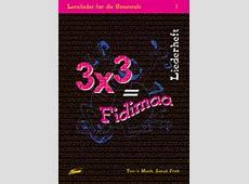 Adonia Verlag 3 x 3 = Fidimaa Zusatzmaterial Sarah