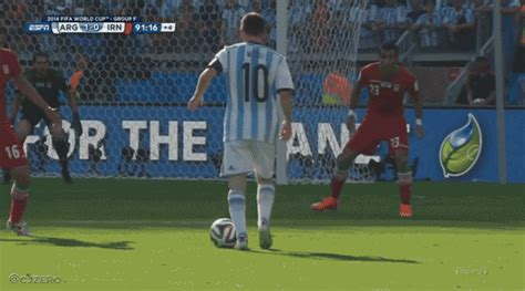 lionel messis magical left foot prevents  world cup
