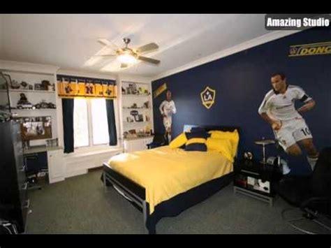 soccer bedroom ideas kids soccer bedroom decor youtube 13359 | hqdefault