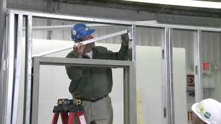 Installing New Exterior Door In Existing Frame by How To Install A Steel Door Frame In Steel Stud Construction YouTube