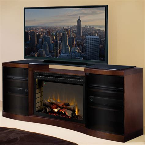 fireplace entertainment centers acton walnut multi xd electric fireplace