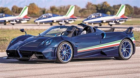Pagani Huayra Tricolore is an 829-horsepower expression of ...