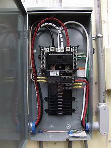 Complete Electrical Outside Service Change