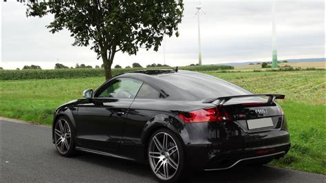 audi ttrs offene klappe s tronic test video youtube