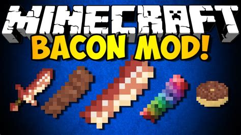 mod鑞es cuisine minecraft bacon mod food blocks more hd