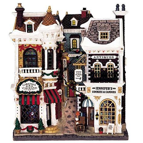 lemax village collection village shops facade  buy