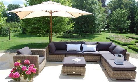 canapes modulables salon bas de jardin haut de gamme en rsine tresse 8 places