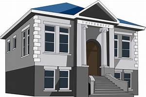 Free to Use & Public Domain School Building Clip Art