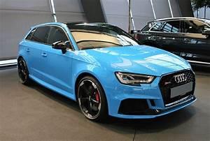 Audi Rs 3 : riviera blue audi rs3 sportback is like a porsche hatchback autoevolution ~ Medecine-chirurgie-esthetiques.com Avis de Voitures