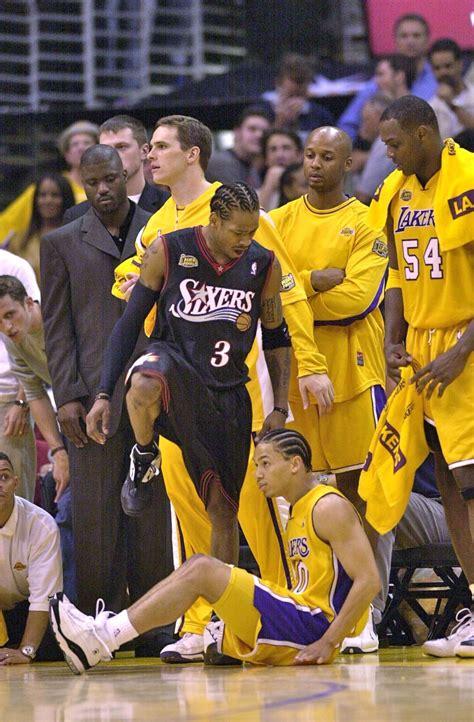 nba basketball allen iverson philadelphia ers
