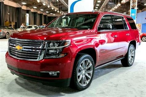 chevy tahoe release date specs  mpg cars suvs