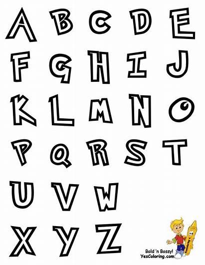 Alphabet Coloring Pokemon Preschool Pages Abc Chart