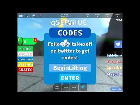 roblox powers mage ultimate lifting simulator codes