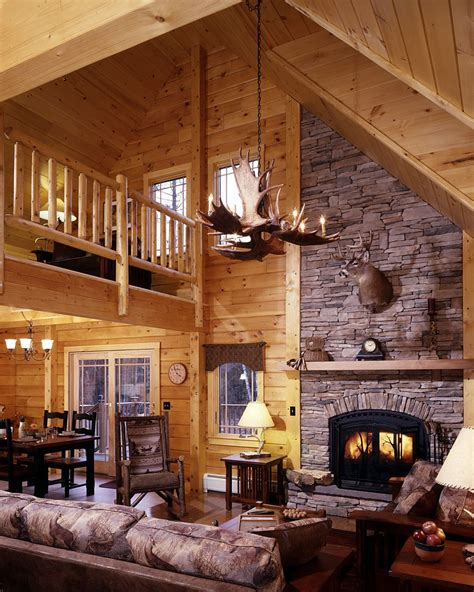 Cabin Interior Pictures by Pictures Of Log Cabin Homes Inside And Out Field