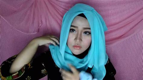 casual hijab tutorial gurit mustika youtube