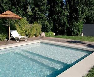 74 best inground pool steps images on pinterest swimming With beautiful piscine liner gris anthracite 5 liner para piscinas piscinas desjoyaux