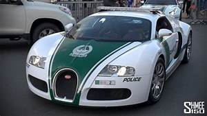 Bugatti Veyron Joins the Dubai Police Supercar Fleet - YouTube