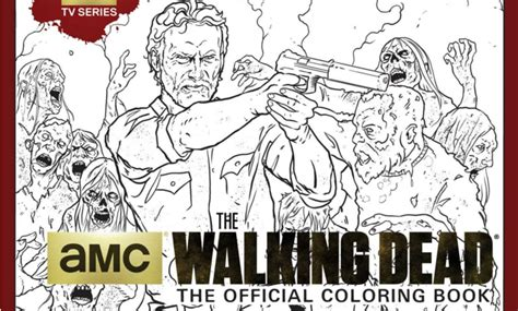 walking dead coloring book insight edition