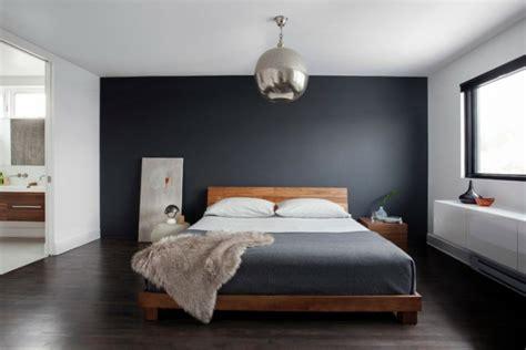 chambre a coucher gris et noir idée chambre à coucher de style moderne et contemporain